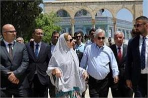 israel in the custody of palestinian minister