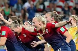 norway germany move into world cup quarters