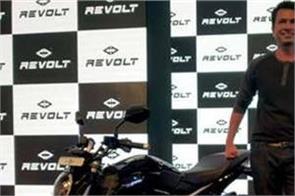 revolt intellicorp revealed its first electric bike revolt rv400