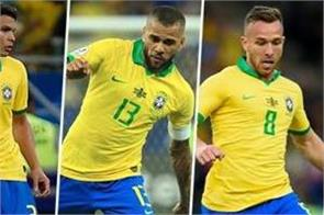 5 brazilian players in the copa américa team of the tournament