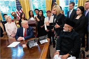 trump meets with 27 people from different countries on religious freedom