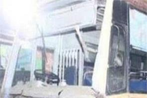 chennai accident bus depot transport workers die