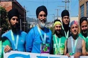 punjabis run in marathon