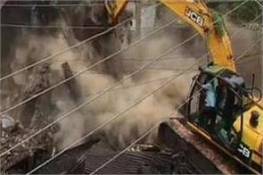municipal corporation indore demolished building