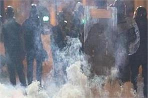 49 arrested 16 injured demonstration hk