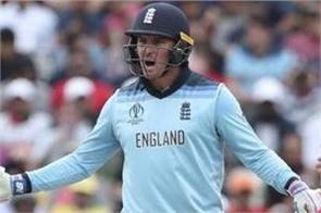 england  s jason roy fined for showing dissent
