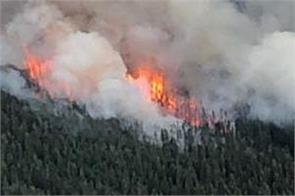 canada  a tragic fire in forests  many people sent to safe places