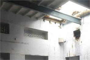 ferozepur rain school roof