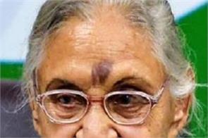 chief minister sheila dikshit died