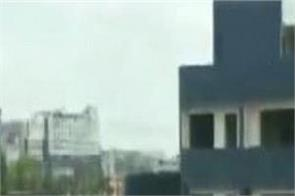an illegal building was demolished in indore