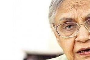shiela dixit deeply saddened by the demise
