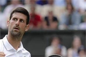 djokovic retains the top  near reached connors