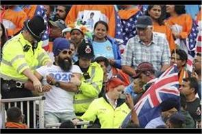 ind vs nz semi final khalistani supporters