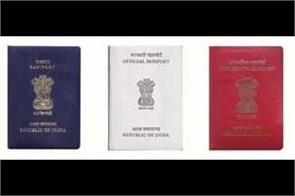 there are 4 color passports in india you know what color you have