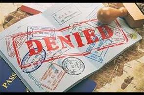 america embassy refuses  visa of 148 students of ludhiana