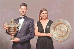 djokovic climbed to the top half reached the fourth spot