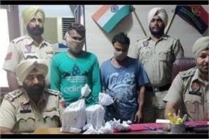 640 grams of opium  2 people arrested