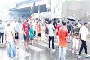 ravidass community protest in ludhiana