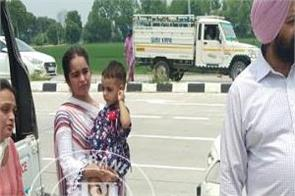 bathinda  cabinet minister gurpreet kangar  accident victims  help