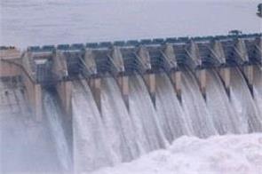 bhakra dam water level