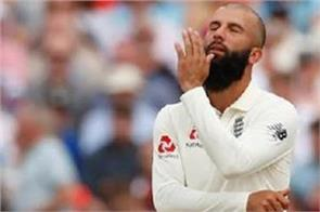 moeen ali out of second ashes test match