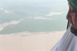 sultanpur lodhi capt amarinder singh flood affected villages visit