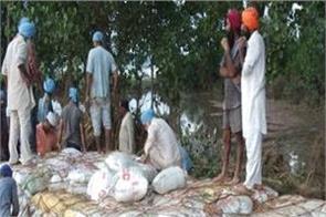 flood victims  jalandhar baba kashmira singh  public service trust