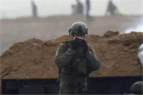 4 palestinians israeli aged again at gaza border