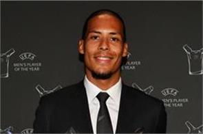 virgil van dijk named uefa men s player of the year