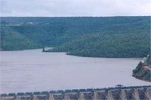 bhakra dam water level down