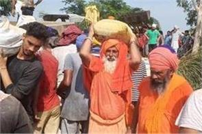 sant sachewal  sant samaj  flood affected areas