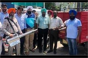 flood affected areas  fogging campaign start