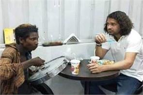 tej pratap ate dinner with dafaliwala