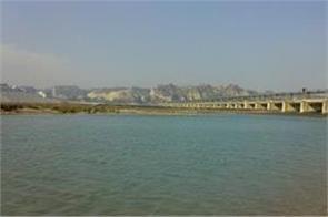 sutlej river increased water levels