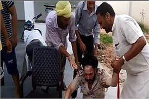 6 arrested beating of sub inspector