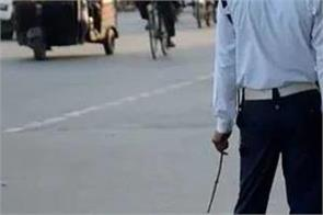 gujarat rikshaw driver traffic police fine suicide