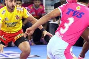 jaipur pink panthers  gujarat fortunegiants