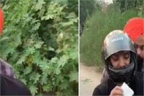 resham singh anmol video on traffic rules punjab police viral