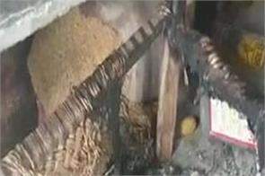 boy burnt alive by girl family in up