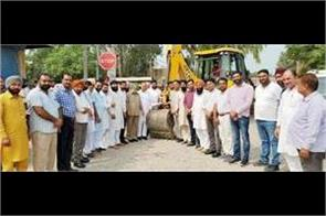 rahon ropar road construction