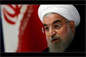 rouhani says to us talks is meaningless until sanctions in place
