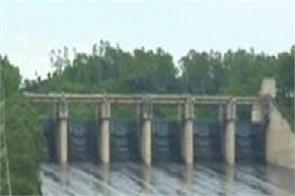 pong dam himachal rainfall