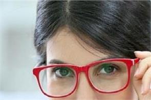 glasses lights eyes