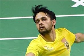 kashyap loses to momota in semifinals crashes out of korea open