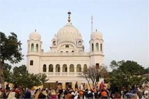 pakistan  a large number of devotees meet at kartarpur darbar sahib