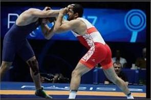 four indian greco roman wrestlers lose in first match