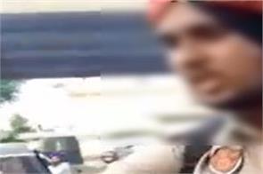 amritsar  petrol pump  police officer