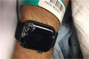 apple watch saved another life user shared the post on facebook