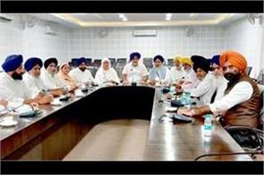 bjp starts giving shock to akali dal partyl decides to contest alone