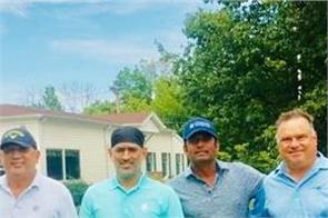 dhoni in the us playing this game  jadhav shared photo